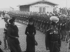 The Romanov visit to Denmark at the end of the 19th century...