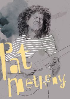 pat metheny , the poool / kind of new by atipo, via Behance