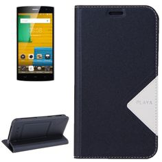 [$2.89] HOMTOM HT7, 5.5 inch Smartphone Matte Surface Horizontal Flip Leather Case with Holder & Screen Protector Film(Black)