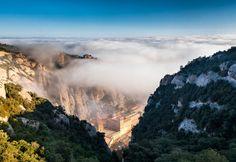 Монастырь и одноимённая гора Монсеррат, Испания (Каталония). фотография, Лига фотографов, Испания, Монсеррат, длиннопост