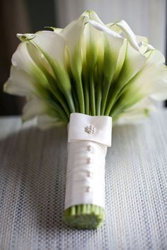 Me gusta la empuñadura de este ramo de novia