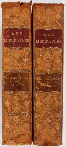 Books:Literature Pre-1900, Victor Hugo. Les Miserables. Thomas Y. Crowell…