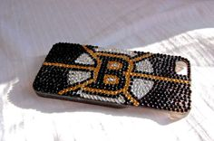 Boston Bruins Iphone 5 case by LilMonkeyBaby on Etsy, $36.00