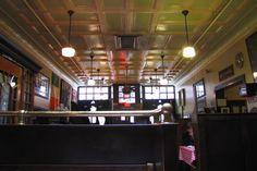 Interior of Doyle's Cafe, Jamaica Plain, MA.  http://www.hiddenboston.com/randomphotos/doyles-interior.html