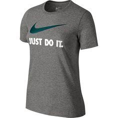 "Women's Nike ""Just Do It"" Swoosh Crewneck Tee"