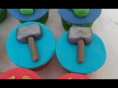 Cupcake Vingadores - Parte 1 Thor