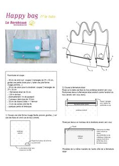 zipped flap bag in imitation leather: with tutorial! Diy Sac, Leather Diy Crafts, Tips & Tricks, Sewing Projects For Kids, Couture Bags, Couture Sewing, Bag Patterns To Sew, Handmade Bags, Sewing Tutorials