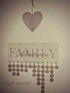 Készült Szeretettel...: Family Celebration-Családi ünnepek öröknaptár
