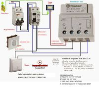 how to wire contactor block delay timer waterheatertimer electrical diagrams 4 wires electronic contactor