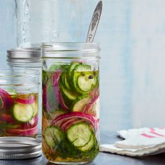 Quick Sweet Pickles - Country Living