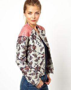 ASOS Suit In Floral Jacquard