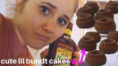 Vegan Coffee and Rum Bundt Cakes // Bake with Me! Bundt Cakes, Delicious Vegan Recipes, No Bake Cake, Rum, Muffin, Chocolate, Baking, Coffee, Breakfast