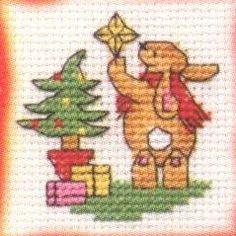 Bunny's Decorations: Cross stitch (Mouseloft, 014-D31stl)