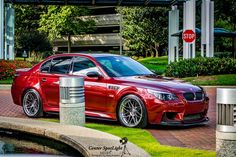 2006 Indianapolis Red BMW M5 (e60)