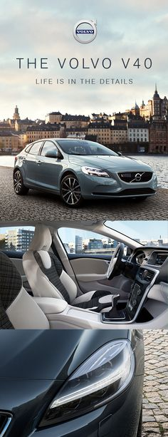 It's your journey—make it unique with the Volvo V40. Boasting a suite of intuitive, cutting-edge and uniquely stylish Scandinavian touches, the V40 is a car that's designed to be just as individual as you are. Prices start from £20,405. Order a brochure today.