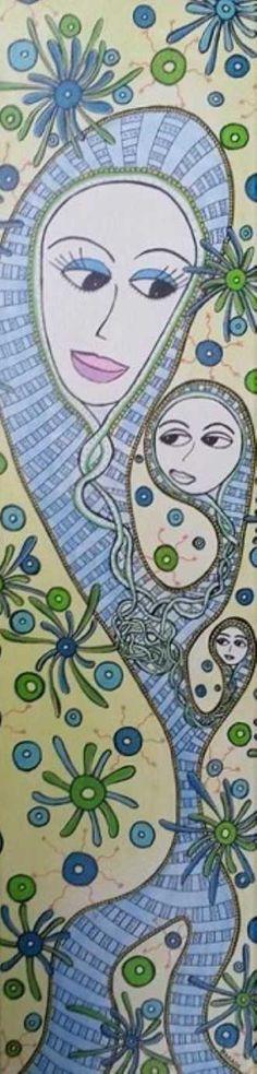 Kunstsamlingen | Artist: Barbara Kaad Ostenfeld | Title: xxx | Height: 80cm,  Width: 20cm | Find it at kunstsamlingen.com