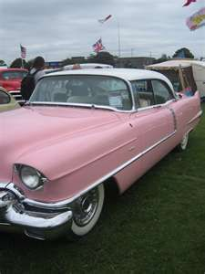 """Honey we can park it out in back, and have a party in your pink Cadillac"" Pink Cadillac - Bruce Springsteen"