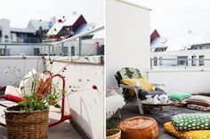 #outdoors #city #balcony #summer   Bolaget Inspiration
