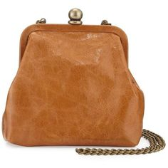 Hobo Libby Mini Crossbody Frame Bag ($46) ❤ liked on Polyvore featuring bags, handbags, shoulder bags, caramel, leather shoulder bag, leather crossbody, crossbody purses, leather crossbody purses and leather purses