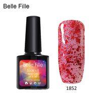 10ml Easy DIY Nail Art UV Nail Gel Polish Bling Varnish Gel Color LED drying Lacquer permanent fingernail polish soak of gel