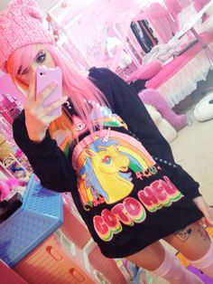 thepinkqueen:  Unicorn sweater from Sheinside!