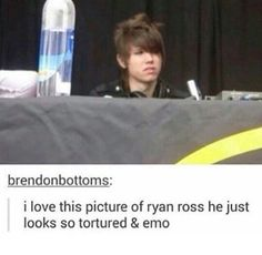 Read emo ross from the story [the holy emo trinity + tøp + phan] memes by frnkjosph (ᵖᵄᵘᶫᵃ) with 445 reads. Emo Bands, Music Bands, Music Stuff, My Music, Emo Haircuts, The Wombats, Dallon Weekes, Band Memes, Brendon Urie