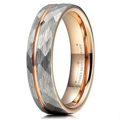 7c42022f9c1 Charming Jewelers Tungsten Wedding Band Ring 8mm for Men Women ...