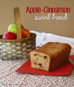 apple cinnamon swirl bread