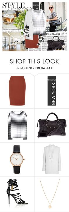 """0909"" by maggielovelace ❤ liked on Polyvore featuring M Missoni, T By Alexander Wang, Balenciaga, Daniel Wellington, Givenchy, Giuseppe Zanotti and Laura Lee"