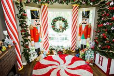 Decorate your home with DIY Candy Cane Pillars by Ken Wingard & Paige Hemmis! Don't miss Home & Family weekdays at 10a/9c on Hallmark Channel!