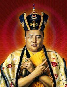 Portrait of HH the Karmapa Rangjung Rigpe Dorje Buddha Buddhism, Tibetan Buddhism, Buddhist Quotes, Buddhist Art, Lama Ole Nydahl, Safari, Vajrayana Buddhism, Himalaya, Buddhist Philosophy