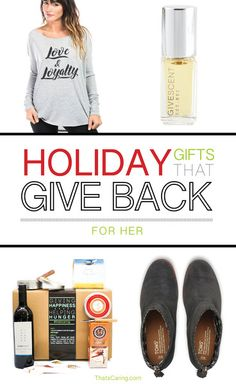 c62842446a8 58 Best Holiday Gifts that Give Back 2017: Our List & Top Gift Picks ...