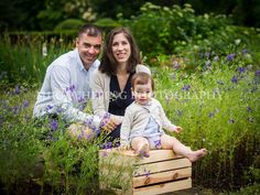 Family Portrait with Wildflowers  | Mira Whiting Photography