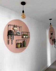 Diy Bedroom Decor, Diy Home Decor, Bedroom Wall Designs, Colour Blocking Interior, Color Blocking, Flur Design, Diy Design, New Room, Room Inspiration