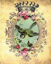 Antique Passion-Láminas Antiguas,Vintage,Retro...y manualidades varias: Antes muerta que sencilla...