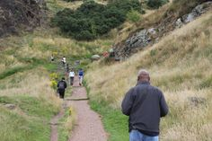 Up the hill to king Arthur's seat