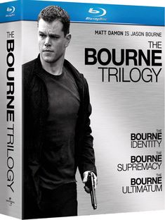 The Bourne Trilogy - the series of novels by Robert Ludlum, which have been adapted to film in a series starring Matt Damon.