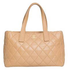 chanel-rare-quilted-caviar-free-shipping-shoulder-bag-camel-leather-Leather Quilted Large Tote-shopper