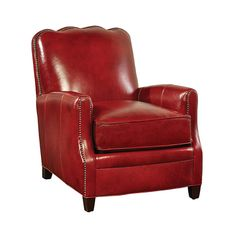 This handsome and distinctive genuine leather chair comes straight off the floor of a designer furniture showroom in San Francisco. Perfect for curling up with a good book, engaging in some witty banter, or just enjoying your evening cigar and brandy.