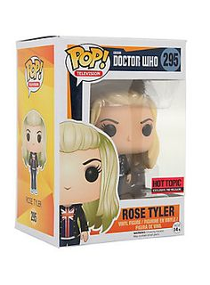 "<p>Rose Tyler is given a fun, and funky, stylized look as an adorable collectible vinyl figure!<br /><br />Hot Topic exclusive pre-release!</p><ul>	<li>3 3/4"" tall</li>	<li>Vinyl</li>	<li>Imported</li></ul>"