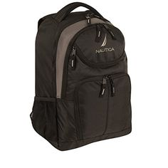 Nautica NX6209 Backpack BlackGunmental One Size *** Be sure to check out this awesome product.