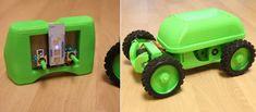 Screwless 3D Printable Remote Control Car Is Unveiled http://3dprint.com/49127/flutter-scout-3d-print-rc-car/