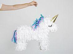 DIY-Anleitung: Einhorn-Piñata basteln via DaWanda.com