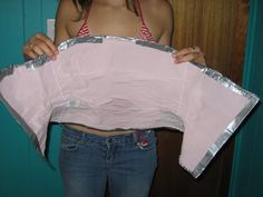Duct tape corset! (now with tutorial and pics!) - CLOTHING