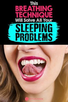 Insomnia? Sleep In 60 Seconds From Simply Breathing.