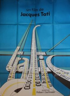 Jacques Tati - Traffic French Medium film p Cinema Posters, Film Posters, Vintage Movies, Vintage Posters, Art Through The Ages, Comedy Movies, Typography Logo, Film Director, View Image