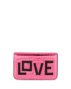 LES PETITS JOUEURS Ginny Black Widow Clutch Bag, Pink. #lespetitsjoueurs #bags #leather #clutch #metallic #shoulder bags #lining #hand bags #cotton #