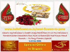 In This Happy Deepawali Everybody Can Send Flowers, Sweets, Dry Fruits, Toys And So Many Products to Your Family Fast Service. Mid Night Delivery is also Available. Send Flowers, Fresh Flowers, 24 7 Delivery, Ferrero Rocher Chocolates, Festivals Of India, Diwali Celebration, Online Florist, Beautiful Red Roses, Sweet Box