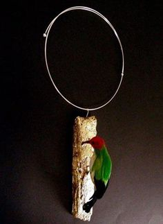 Interesting necklace by Alexandre Collon