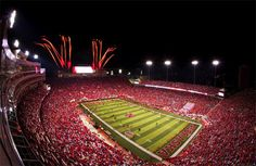 Memorial Stadium  Lincoln, Nebraska...I'm so excited I got to cross this off my list on 9/7/2013